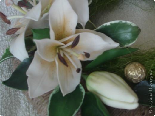венночек с лилией фото 4