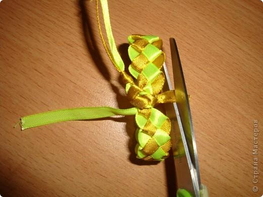 фенечки из атласных  лент фото 16