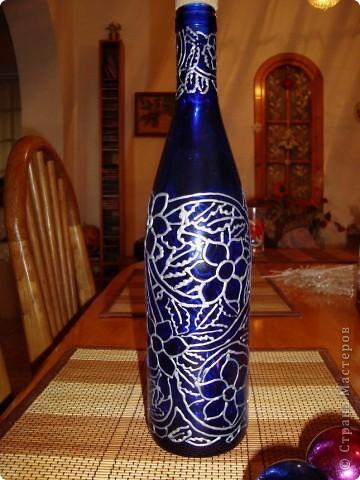 Роспись бутылки