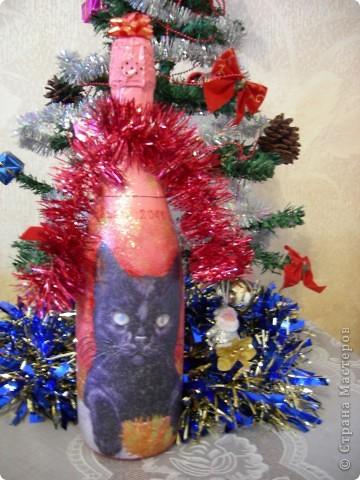 Подарочная бутылочка