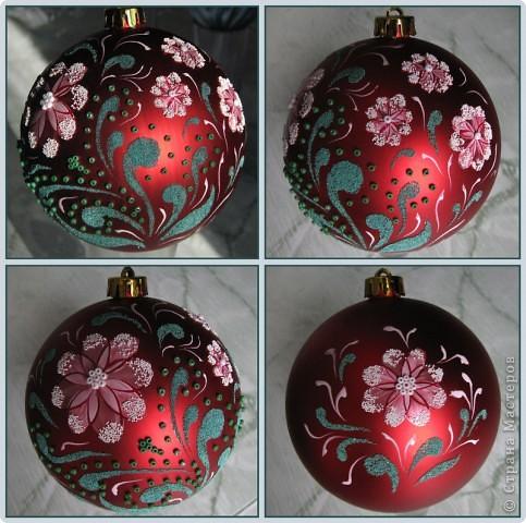 Разрисован лаками для ногтей, декорирован песочком для ногтей и бисером. длина круга 31 см. фото 1