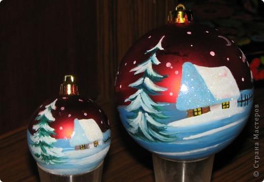 Новогодние шарики на ёлку 2 фото 2