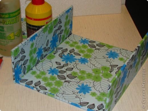 Покажу вам, как я сделала вот такую коробку для новогодних шариков. Надеюсь мой МК кому-нибудь пригодится фото 11