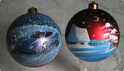 Новогодние шарики на ёлку 2 фото 1