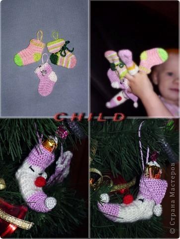 Новогодние украшения для елочки фото 1