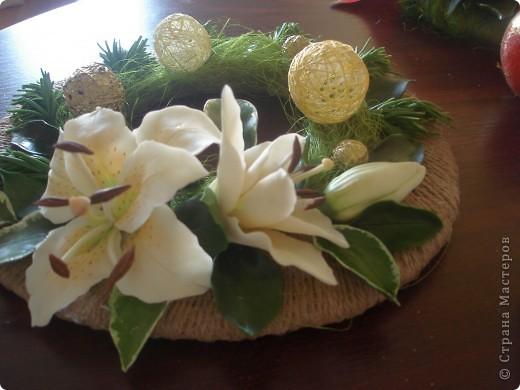 венночек с лилией фото 2
