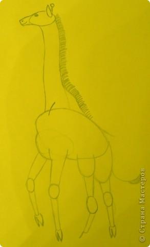 Вот такой жираф у меня получился. фото 5