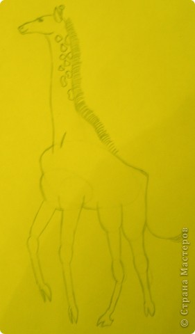 Вот такой жираф у меня получился. фото 6