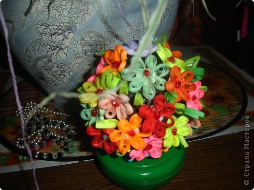 Цветочки на шаре фото 1