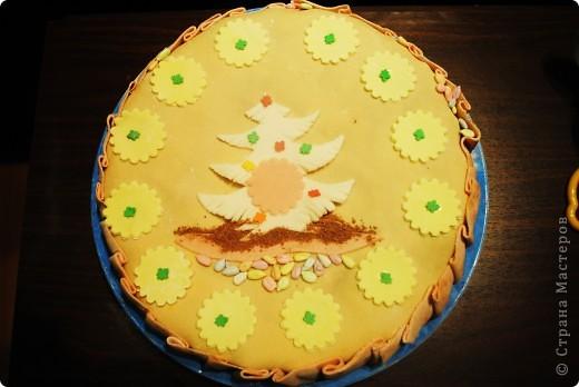 Тортик детский новогодний) фото 1
