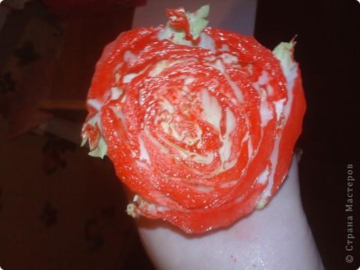Сегодня резала салаты к празднику и вспомнила про штамп из капусты,решила сфоткать вдруг ещё кто не видел нам понадобится краска,листок и собственно пекинская капуста фото 3