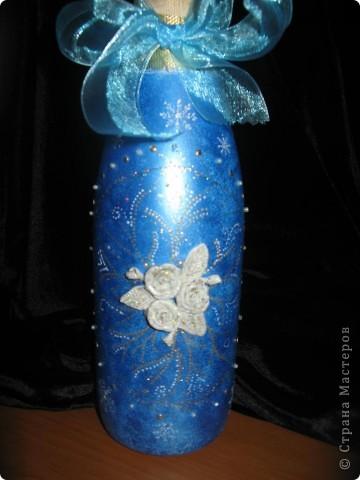 Вот такие бутылочки получились в подарок. фото 7