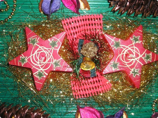 Новогодняя композиция-подарок фото 2