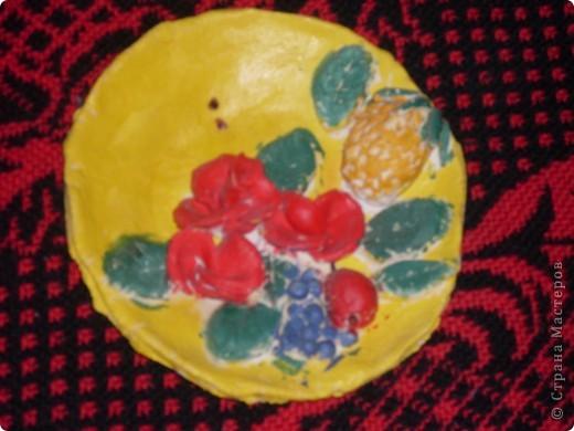 тарелочка, 8 марта, подарок маме фото 1