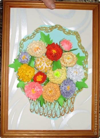 корзинка сухоцветов фото 1