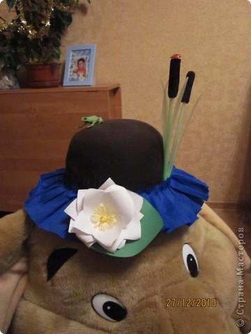 В детском саду на празднике дочка была кикиморой. получился вот такой костюмчик.  фото 4