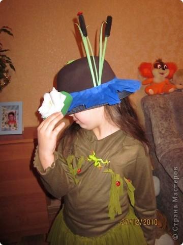 В детском саду на празднике дочка была кикиморой. получился вот такой костюмчик.  фото 3