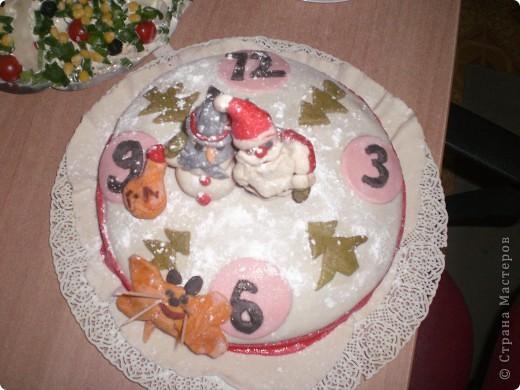 Мои новогодний тортик фото 2