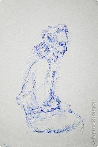 Этот портрет нарисован кажется сангиной, такой черный художественный мелок фото 14