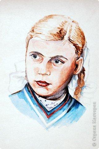 Этот портрет нарисован кажется сангиной, такой черный художественный мелок фото 24