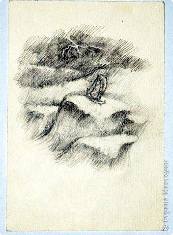 Этот портрет нарисован кажется сангиной, такой черный художественный мелок фото 10