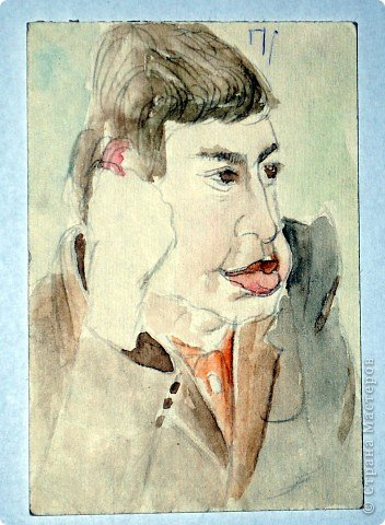 Этот портрет нарисован кажется сангиной, такой черный художественный мелок фото 28
