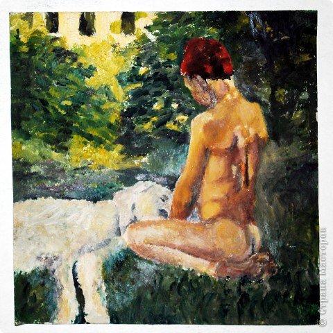Этот портрет нарисован кажется сангиной, такой черный художественный мелок фото 29