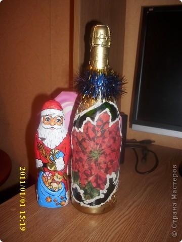 Бутылочка к новому году фото 2