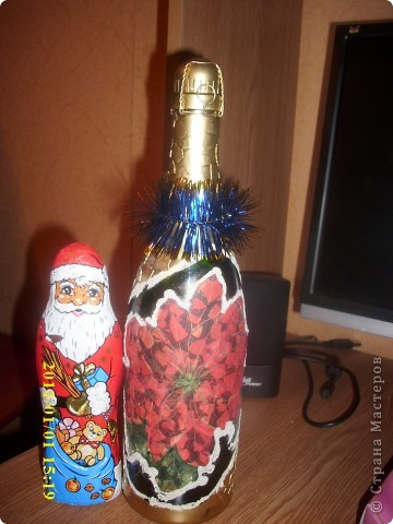 Бутылочка к новому году фото 1