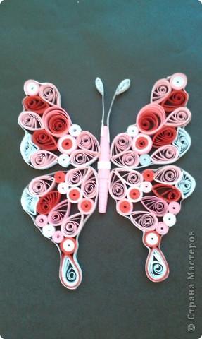 мой бабочки ........ сделала давно ,вылажала сегодня   фото 1