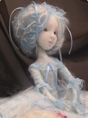 """Текстильная кукла """" После зимы"""" фото 2"""