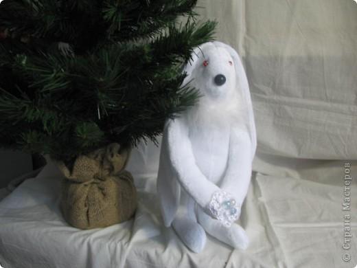 Рождественские зайчики фото 1