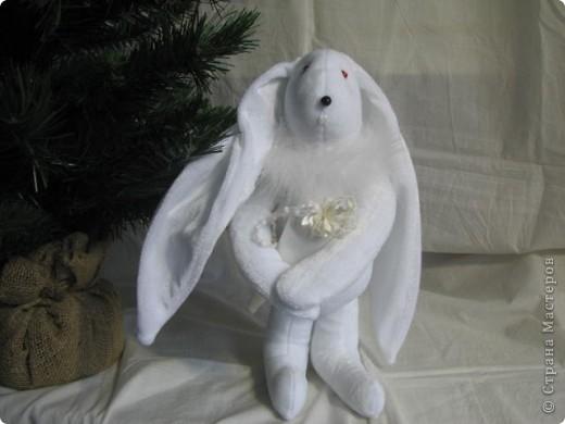 Рождественские зайчики фото 3