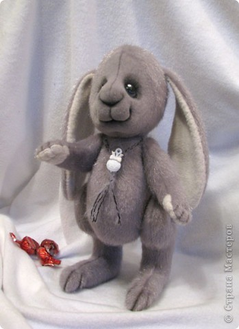 Вот, какой зайчишка у меня пошился)) фото 1