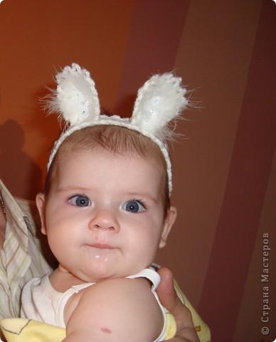 ушки дочурке на новый год))) фото 1