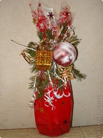 Эту корзиночку я делала для мамы буквально перед выходом в гости минут за 20... Самая первая поделка. Основа - деревянная корзиночка из-под искусственных цветов... фото 8