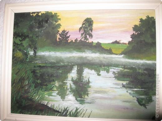 Вот моя картина. В принципе с картин всё и начиналось моё творчество. фото 1