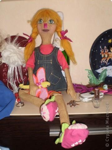 Катя- кукла примитив фото 1