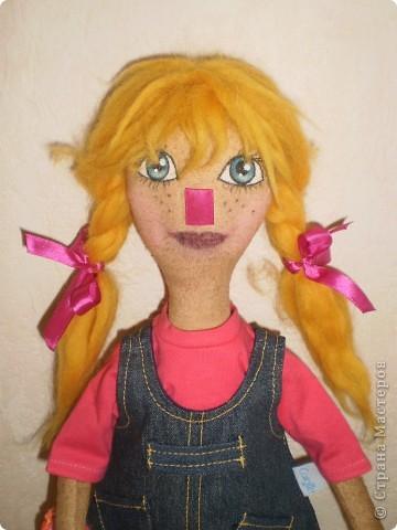 Катя- кукла примитив фото 3