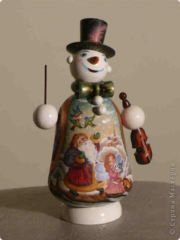 Снеговик с сюрпризом
