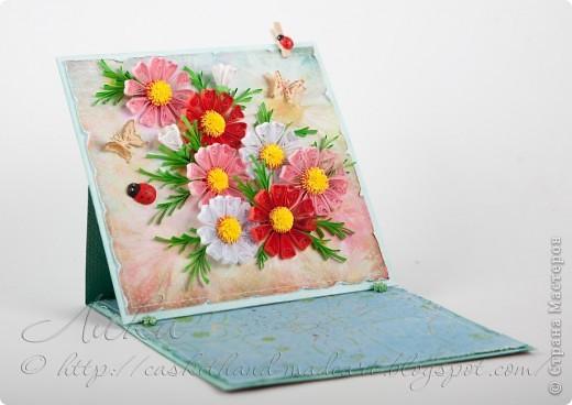 ... или подставка под бумажки для любимой снохи в подарок на Новый Год :о)) фото 2