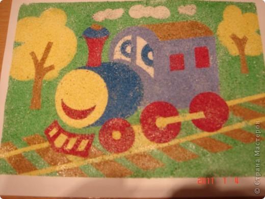 """Это наша """"шариковая """" семья. Я показала Сашуле (2,6) на одном шарике как делать. Остальные (маму и папу) он рисовал самостоятельно. фото 3"""