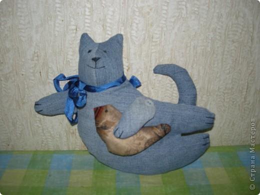 Кот на елке. Спасибо, Эллочка. http://stranamasterov.ru/node/100479 фото 3