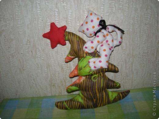 Кот на елке. Спасибо, Эллочка. http://stranamasterov.ru/node/100479 фото 2