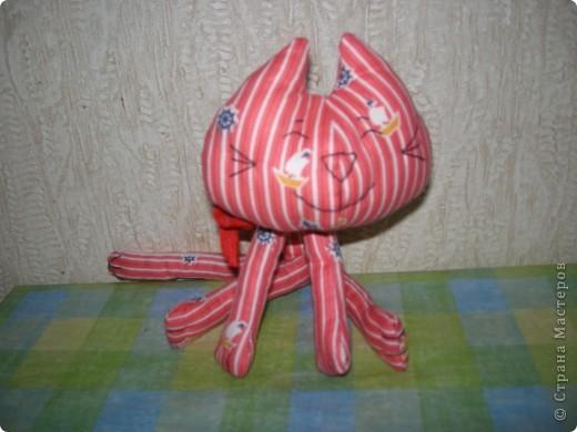 Кот на елке. Спасибо, Эллочка. http://stranamasterov.ru/node/100479 фото 5