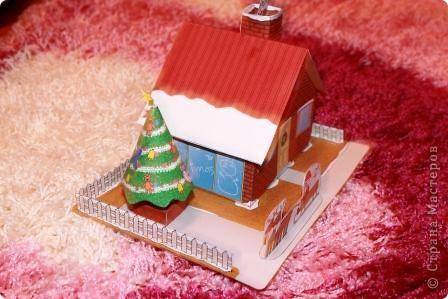 Домик зимой фото 4