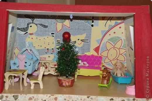 Уютный домик для кукол фото 4