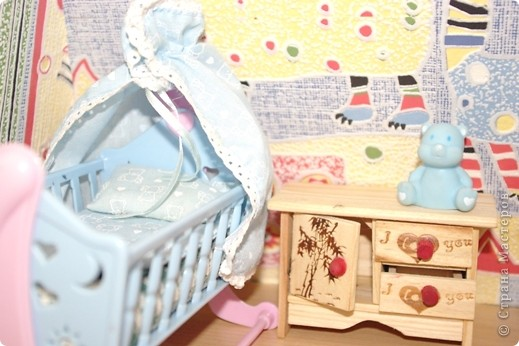 Уютный домик для кукол фото 5