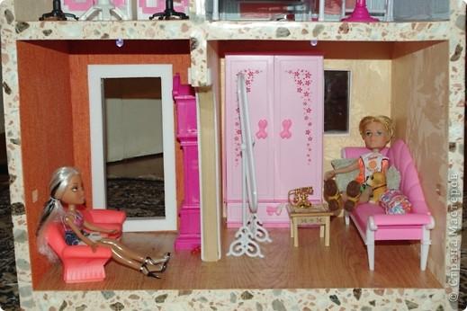 Уютный домик для кукол фото 8