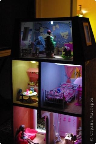 Уютный домик для кукол фото 10